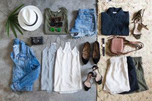La valigia perfetta: pochi capi tanti outfit