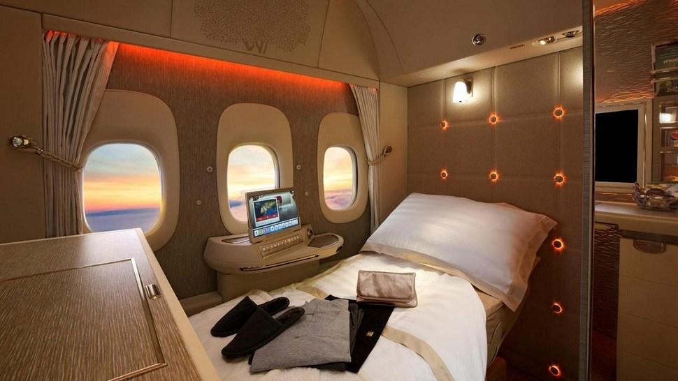 Prima Classe Emirates Airline