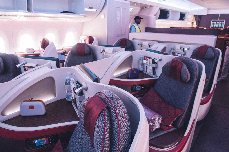 Le migliori compagnie aeree per la Business Class