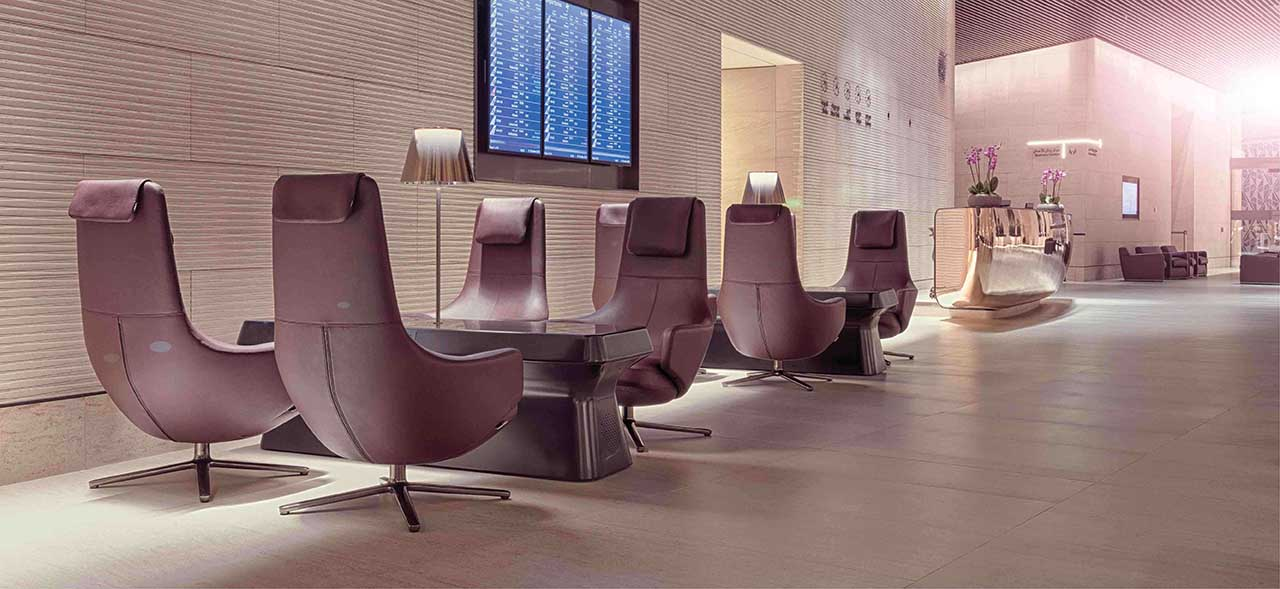 Al Safwa First Lounge di Qatar Airways