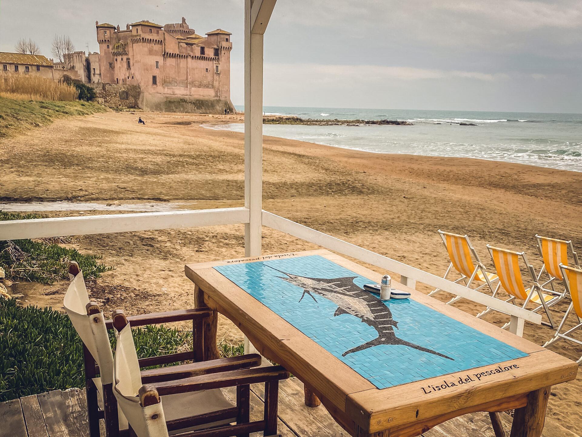 L'isola del Pescatore Santa Severa
