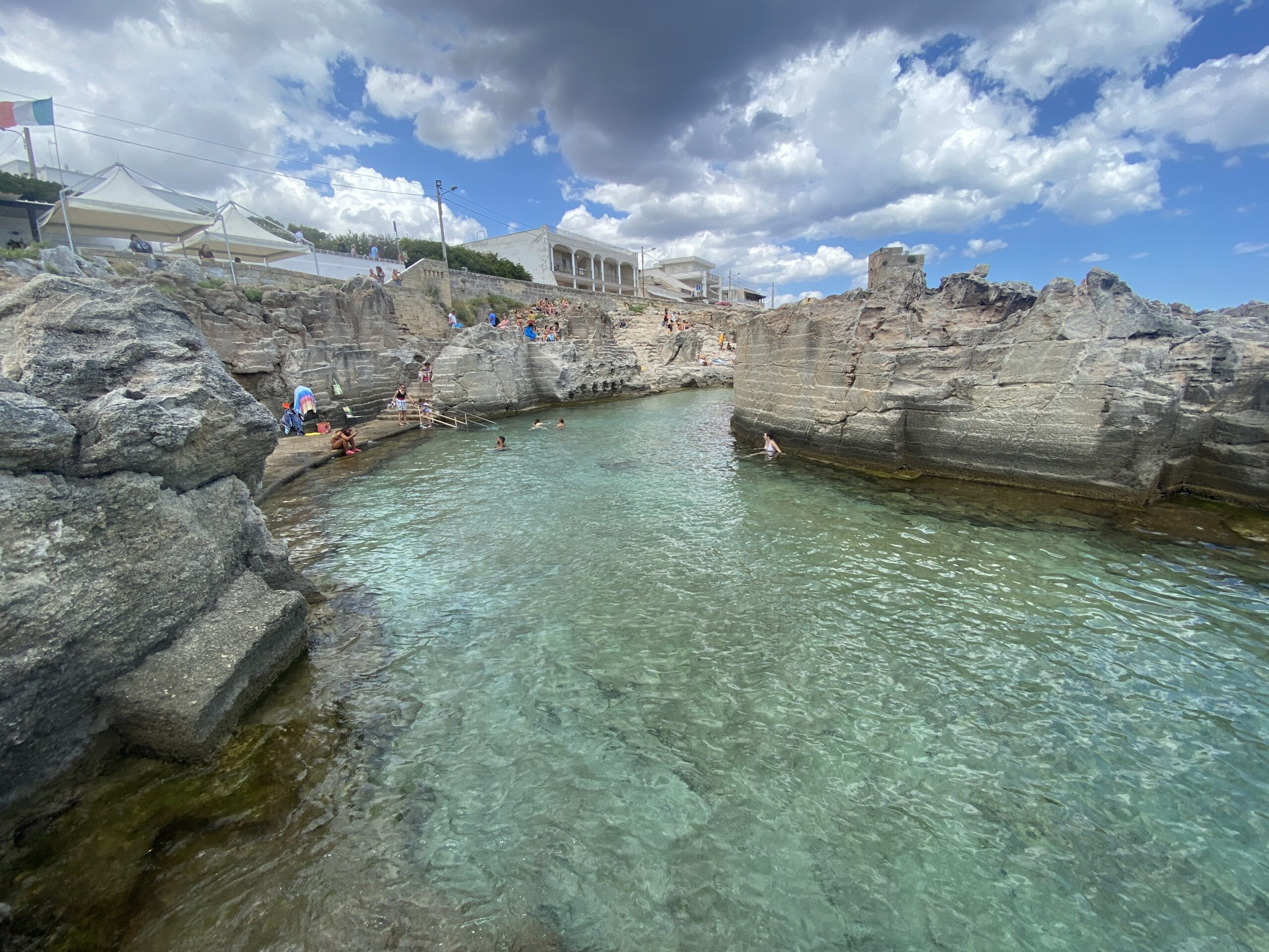 Piscina naturale Marina Serra: una delle spiagge più belle del Salento