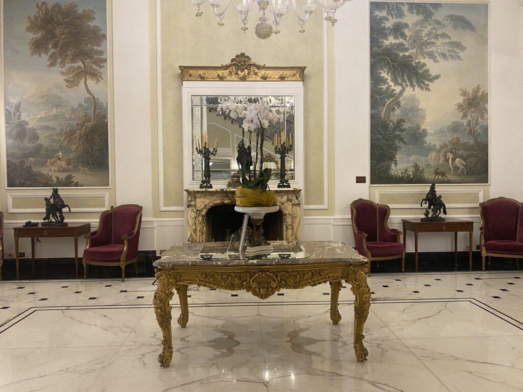 Hall Grand Hotel Majestic già Baglioni Bologna