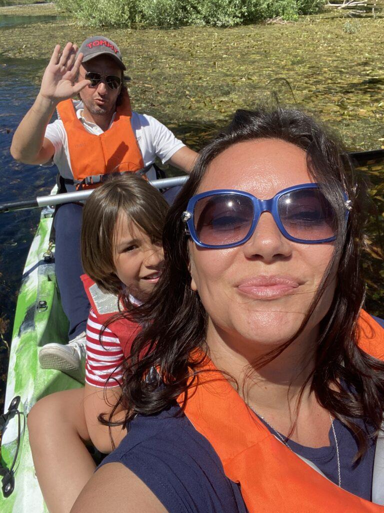 Escursioni in canoa in Abruzzo sul fiume Pescara