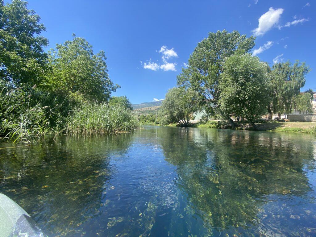 immagine del fiume pescara