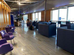 Lounge aeroporto di Atene